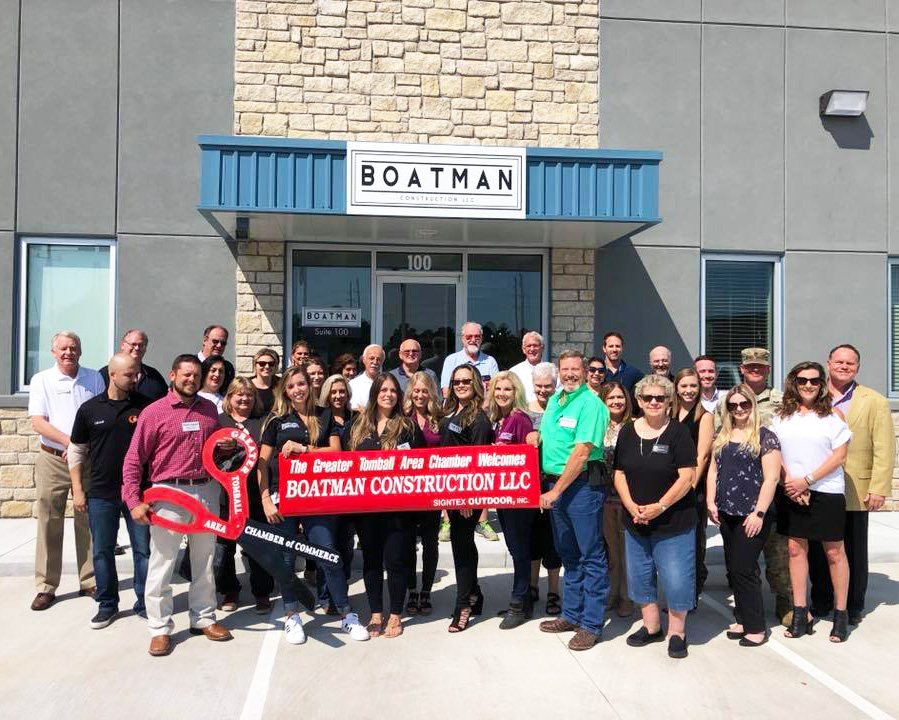 Ribbon Cutting-Boatman Construction, LLC